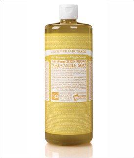 Org Citrus Orange Oil Castile Soap-944 ml Brand: Dr. Bronners Magic Soap