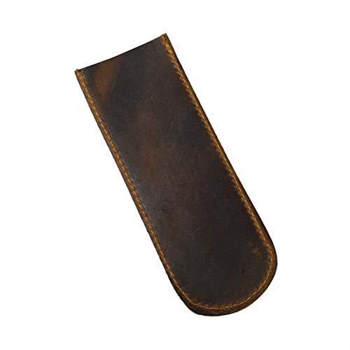 Hide & Drink, Durable Leather Bottle Opener Sleeve / Bartender Essentials / Bottle Opener Case / Church Key Bottle Opener, Handmade :: Bourbon Brown