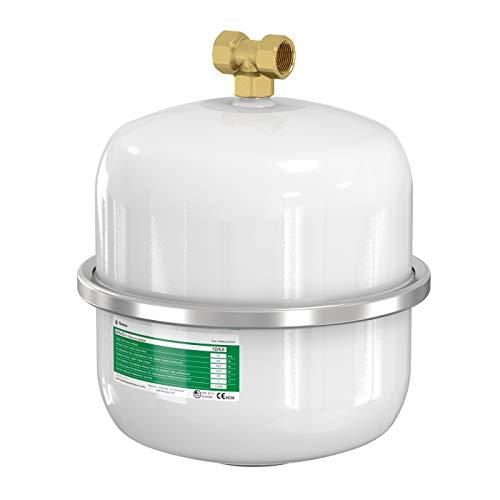 Flamco 14349 Ausdehnungsgefäß AIRFIX D 12 L, 4 Bar, für Brauchwasseranlagen, Weiß
