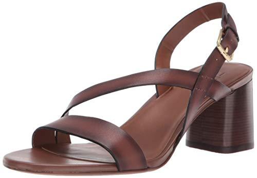 Naturalizer Women's Fairmont Heeled Sandal, Lodge Brown, 7.5 M US