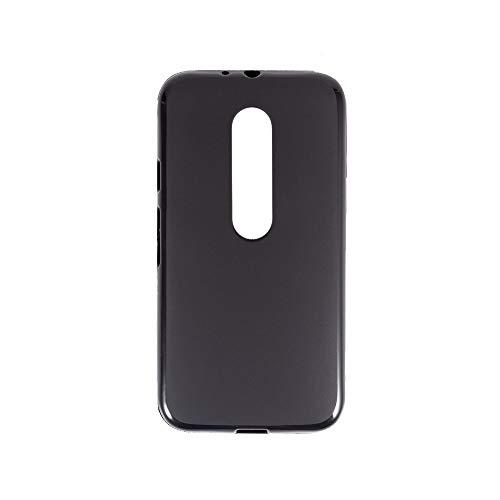 Funda para Motorola Moto G3, resistente a los arañazos, cubierta trasera de TPU suave, a prueba de golpes, gel de silicona y goma, antihuellas de todo el cuerpo, funda protectora para Motorola Moto G3