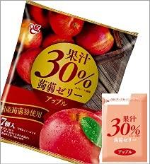 エースベーカリー 果汁30%蒟蒻ゼリーアップル20g7個入り×12袋