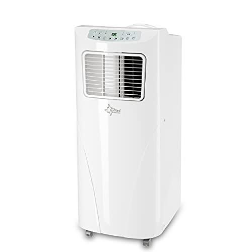 SUNTEC Climatiseur mobile Fresh 7.000 Eco R290 | Climatiseur pour pièces de 25 m2 max. | Tuyau d'évacuation d'air | Refroidisseur et déshumidificateur avec réfrigérant écologique | 7000 BTU/h