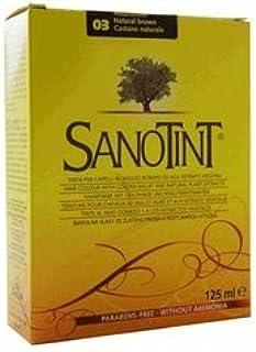 Tinte 3 Sanotint (Castaño Natural) 125 ml de Santiveri: Amazon ...