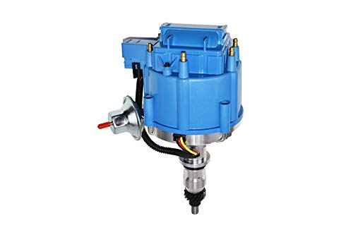 HEI DISTRIBUTOR Replacement for FORD 240 and 300 ENGINES, BLUE CAP