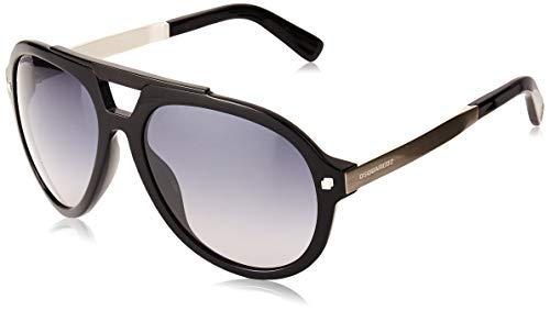 DSQUARED2 D Squared Gafas de sol, Negro (Black), 62.0 para Hombre