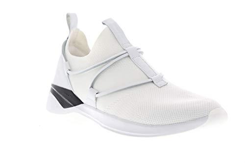 Skechers Modena Acapella - Zapatillas deportivas para hombre, Blanco (Blanco/Negro), 44.5 EU