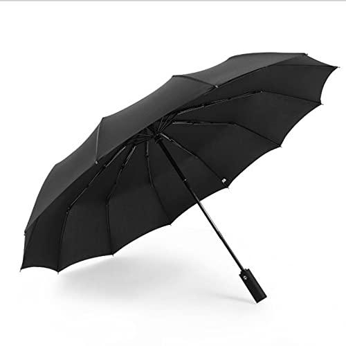 Paraguas Plegable, Cortavientos Y Ultraligero, De Apertura Y Cierre Automáticos, De Apertura Y Cierre Automáticos Paraguas De Viaje De 12 Huesos Para Hombres Y Mujeres, Mini Paraguas De Bolsillo, Para