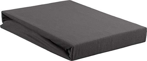 Beddinghouse Jersey Split-Topper-hoeslaken / 200 * 200/210 cm/antraciet