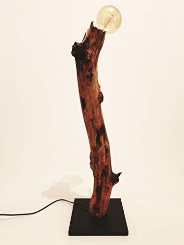 Staande lamp Trixi van drijfhout