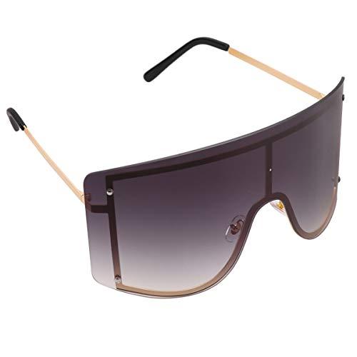 clispeed vintage shield visor sunglasses