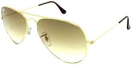 راي بان نظارة شمسية افييتور للجنسين - RB3025-001-51 58