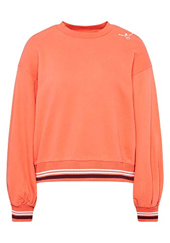 Chiemsee Damen Sweatshirt, Hot Coral, S