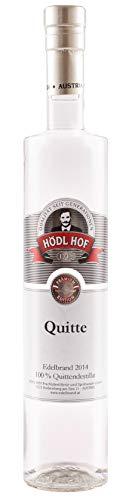 Hödl Hof Quitte Edelbrand   40% vol.   Obstbrand  100% Destillat   Falstaff 2018 Sortensieger (0,5 l)