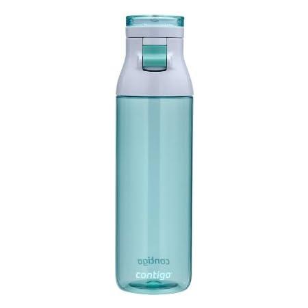 Contigo Jackson Reusable Water Bottle, 24 Oz, Greyed Jade