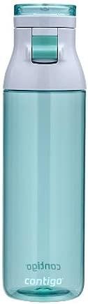 Contigo Jackson Reusable Water Bottle, 24oz, Greyed Jade (JKG100A01)