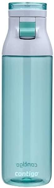 Contigo Jackson 可重复使用水瓶 24 盎司灰色翡翠