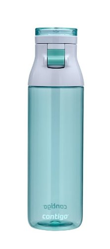 Contigo JKG100A01 Jackson Reusable Water Bottle, 24 oz, Greyed Jade
