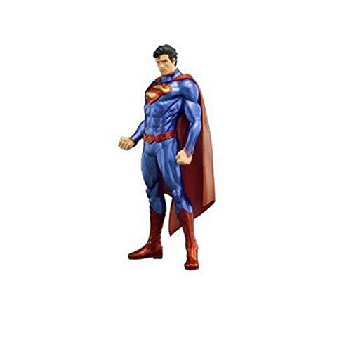 Taoke Statue Held Klassische Superman-Puppe Joint Mobility Modell Desktop-Anime-Dekoration 18cm 8bayfa