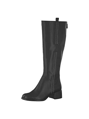 Tamaris Damen 1-1-25575-33 001 Hohe Stiefel, Schwarz (Black), 38 EU