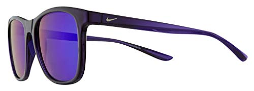Nike EV1199-525 Passage Sunglasses Grand Purple Frame Color, Rose with Red Mirror Lens Tint, 55/18/145