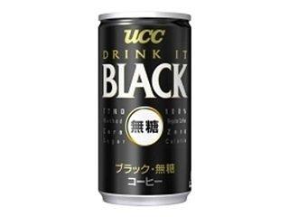 ブラック無糖 185g×30本 缶