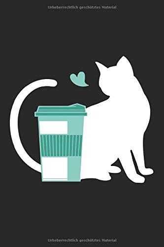 Kaffe katze: Katzen Cafe Notizblock Katze kaffe Geschenk