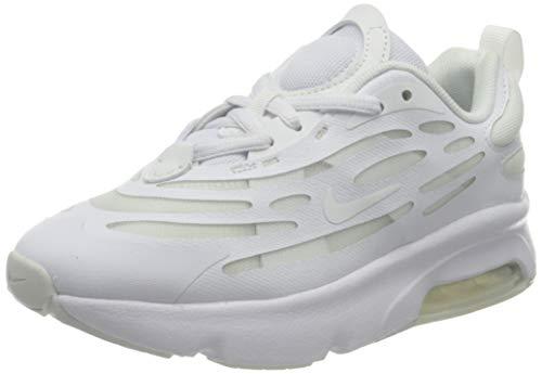 Nike AIR MAX EXOSENSE (PS) Laufschuh, White Summit White, 34 EU