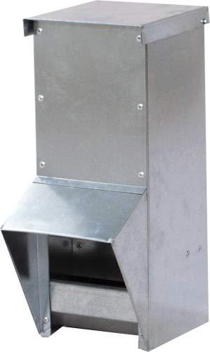 Hemel Futterautomat für Geflügel - verzinkt - (10l)