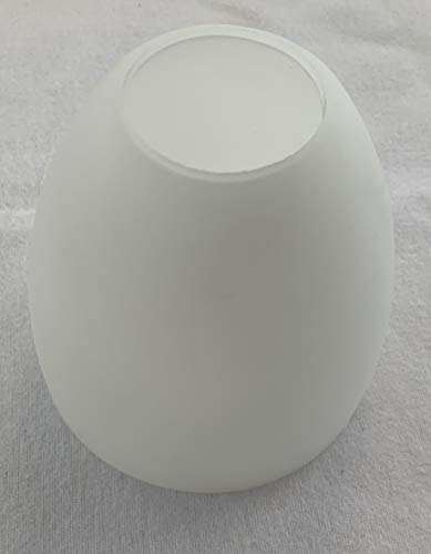 KHL Lampenglas Lampenschirm E27 Deckenfluter Hängelampe opalfarbig weiß 10cm KH2350