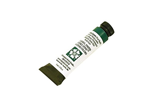 DANIEL SMITH 284610078 Extra Fine Watercolors Tube, 5ml, Phthalo Green (Blue Shade)