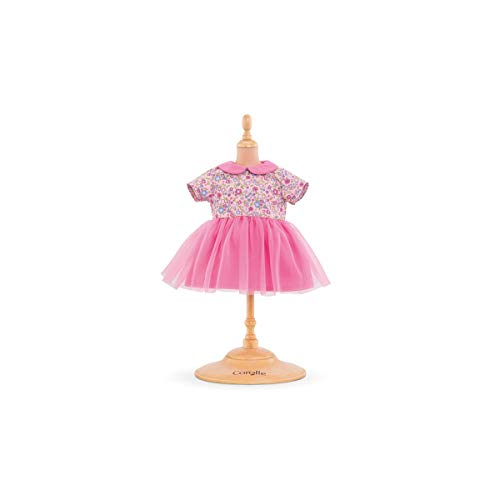 Corolle- Robe Rose pour Poupon 36 cm Vêtement, 140580