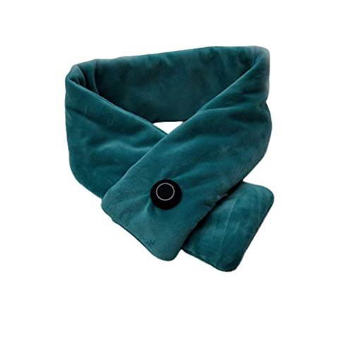 spier Heated Scarf, Usb Heated Scarf Washable Pain Relief Winter Ski Camping Neutral Scarf Heating Pad
