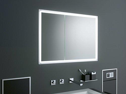 Emco asis LED-Spiegelschrank Prestige up 1315 mm, ohne Radio, Farbwechsel