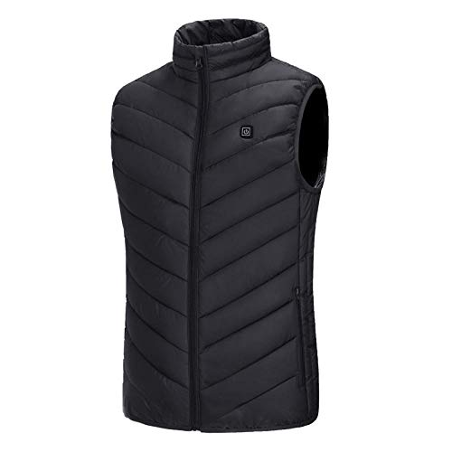 Weier. Ben elektrische vest, buitenverwarming, USB verwarmingsvest, winterwarm vest, mannelijk camping wandelen jacht jas warm te houden -B_M_Australië