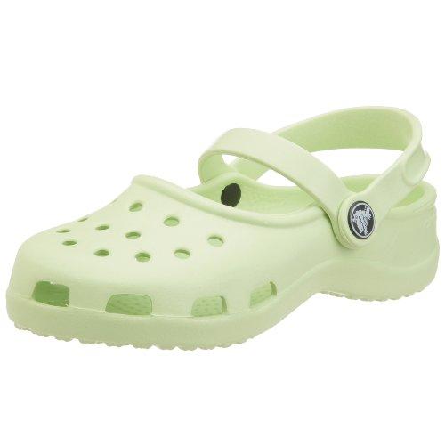 Crocs Kids Mary Jane, Verde Sedano