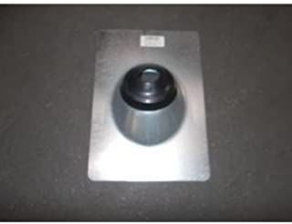 or 1-1//2 in Ips Roofing 817207 IPS Corporation 1-1//4 in Roof Flashing Galvanized For Vent Pipe