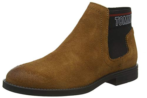 Tommy Hilfiger Corporate Elastic Chelsea Boot laarzen voor dames