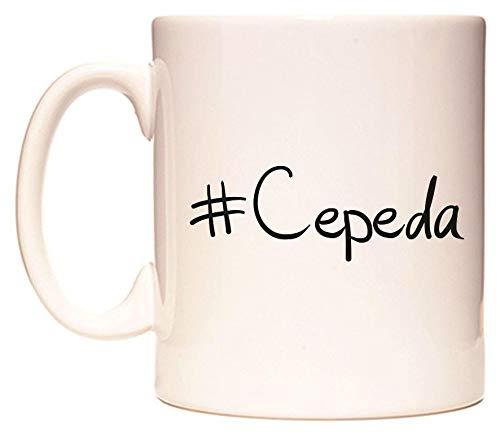 #Cepeda Taza por WeDoMugs®