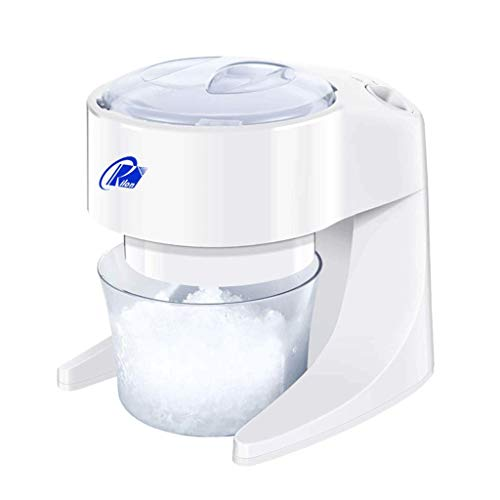 Learn More About LXZZJ Electric Ice Crusher, Shaver Snow Cone Maker Machine for Home Kitchen, White,
