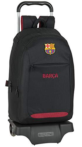safta Mochila Escolar, Multicolor (F.C. Barcelona Layers)