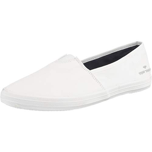 TOM TAILOR Damen 6992404 Slipper, Weiß (White 00002), 38 EU