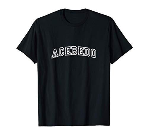 Acebedo Vintage Retro Sports Arch Camiseta