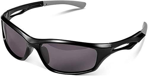 Skevic Gafas de Sol Hombre Mujer Polarizadas TR90 - Gafas Running, Gafas Ciclismo Hombre ideales para Deporte, Pesca, MTB, Esquí, Golf, Bicicleta, etc. Gafas de Sol Deportivas - Protección 100% UV400