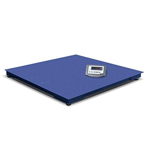 Accurex Báscula Industrial de Plataforma de suelo RX Tiger 88-600 (600 kg / 100 g/Plataforma de pesaje 800 x 800 mm)
