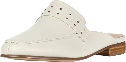 Clarks Pure Mule White Leather 7.5