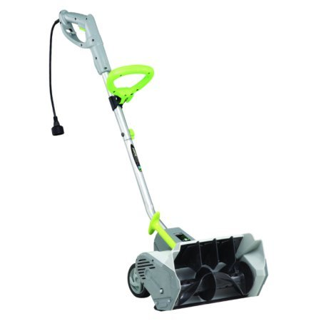 Earthwise 12 AMP Electric Snow Thrower Power Shovel with Wheels Snow Blower SN70014 RFB Snow