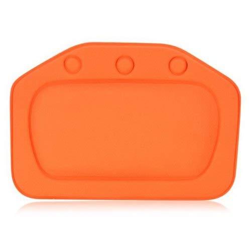 Sevenshop Whirlpool-Kissen Mit Saugnapfen - Orange
