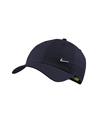 Nike Heritage 86 Metal Swoosh Cap (one Size, Navy)