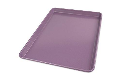 USA Pan Allergy ID Nonstick Half Sheet Baking Pan, Purple